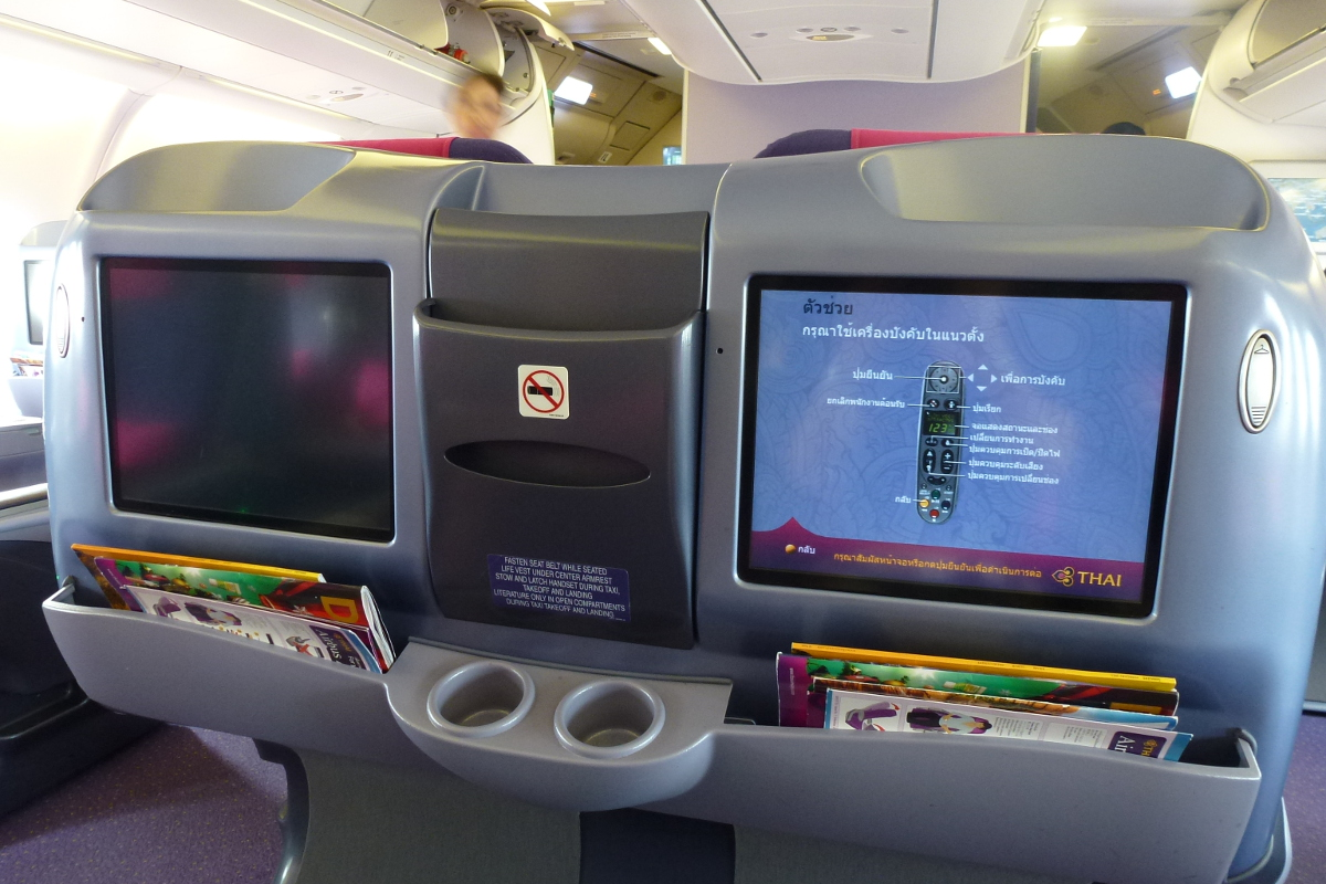 A Short Trip in Thai Airways Royal Silk Class