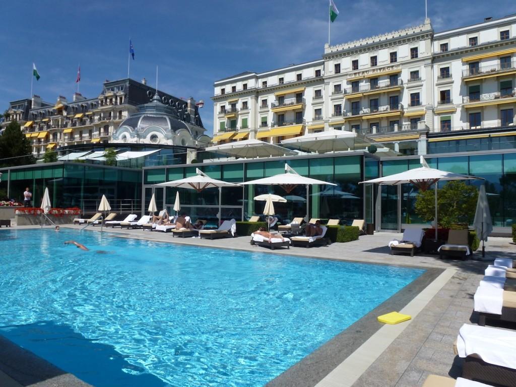 Beau-Rivage Palace - Pool