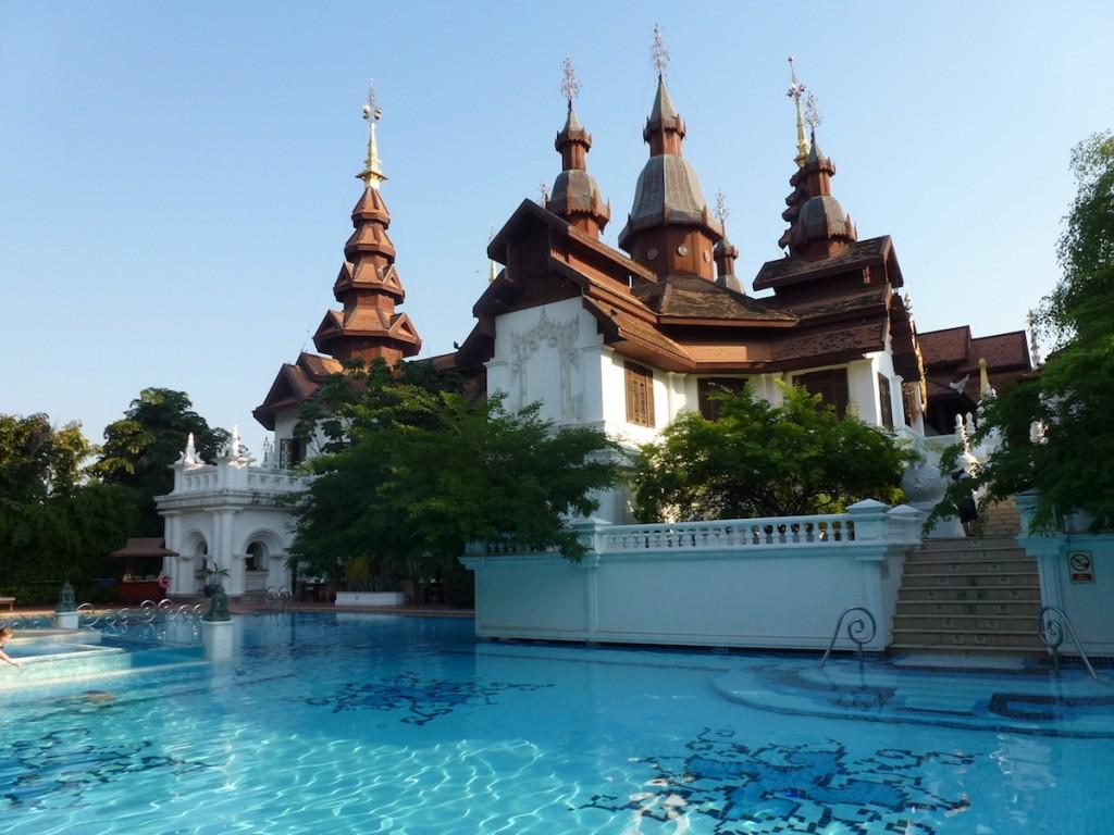 Dhara Dhevi Chiang Mai - Second pool