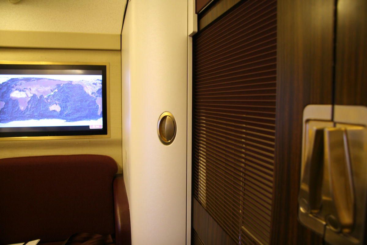 Pure style of Thai Airways Royal First Class