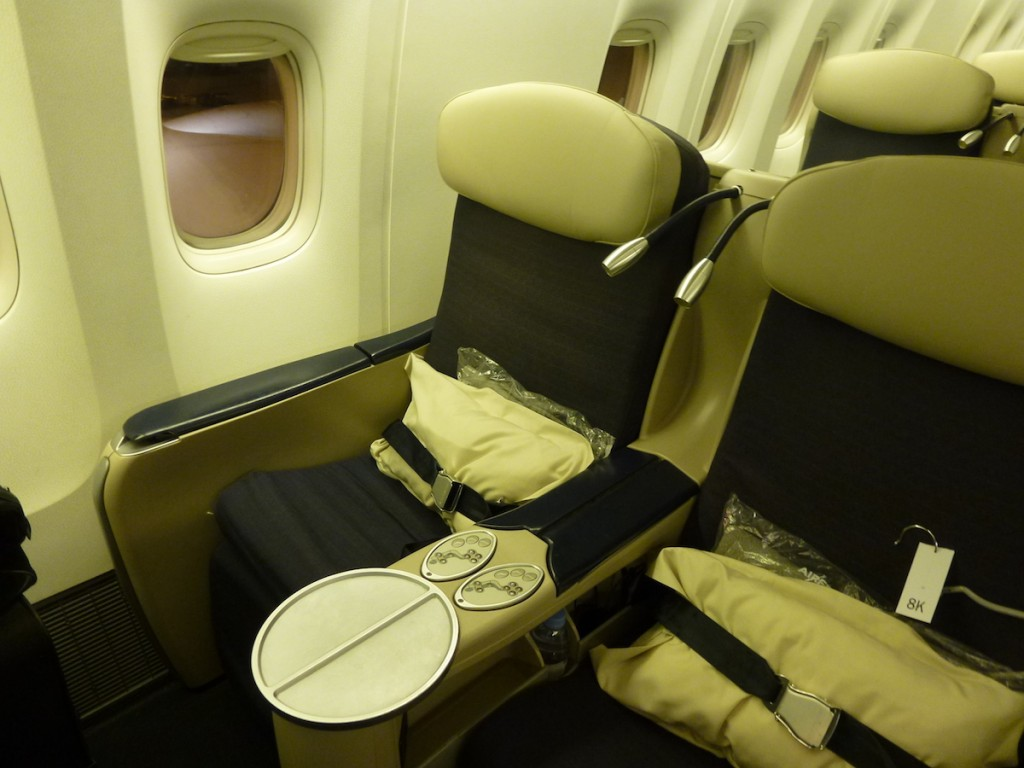 Air France Business Class - Seat