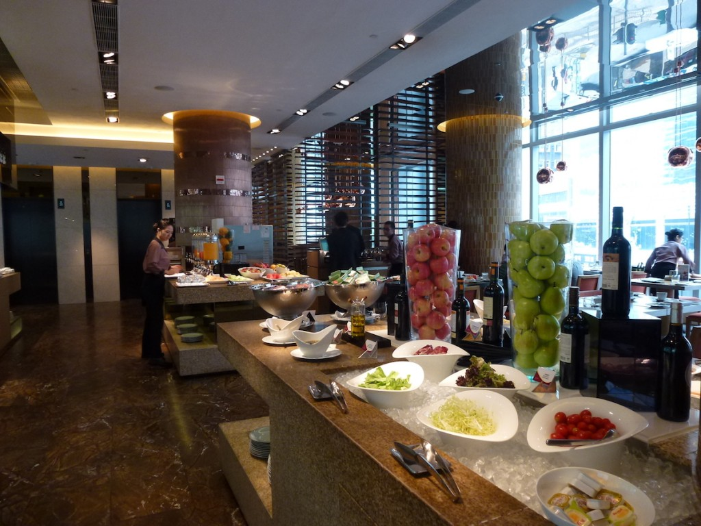 Crowne Plaza Hong-Kong - Breakfast choices