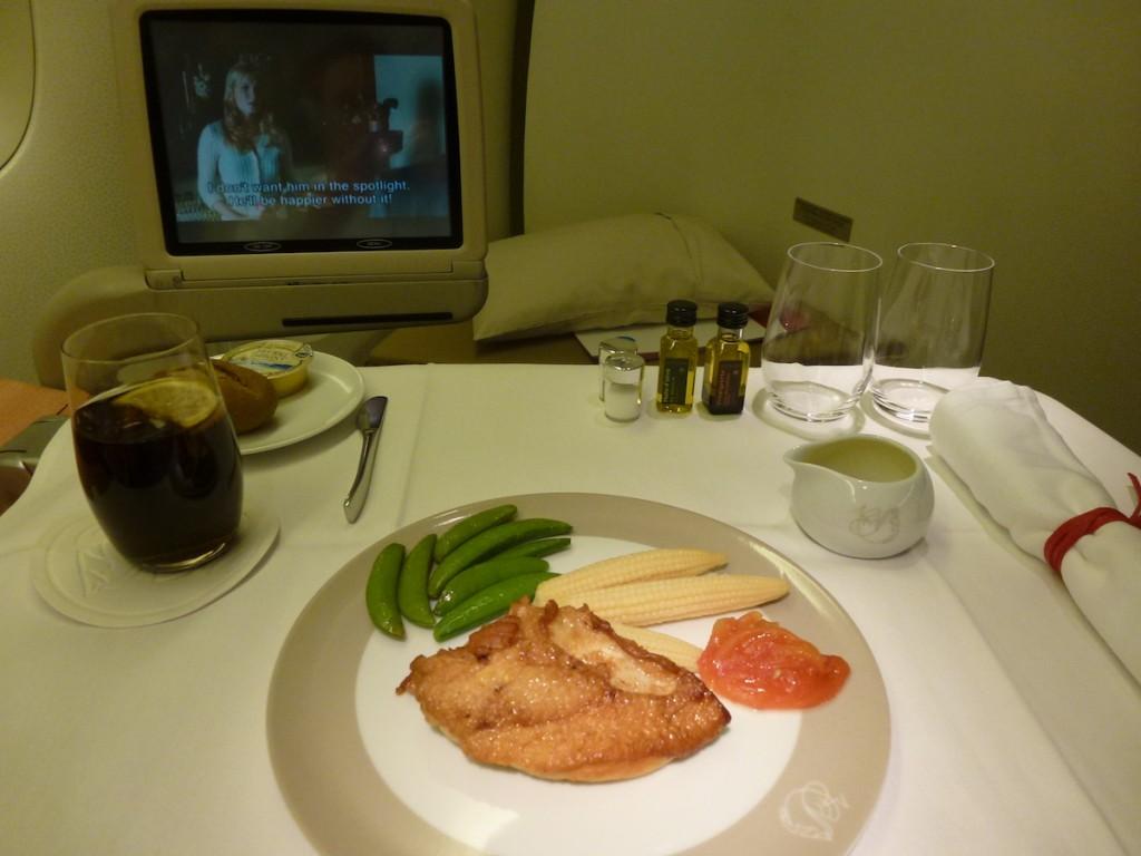 Air France La Premiere - Catering