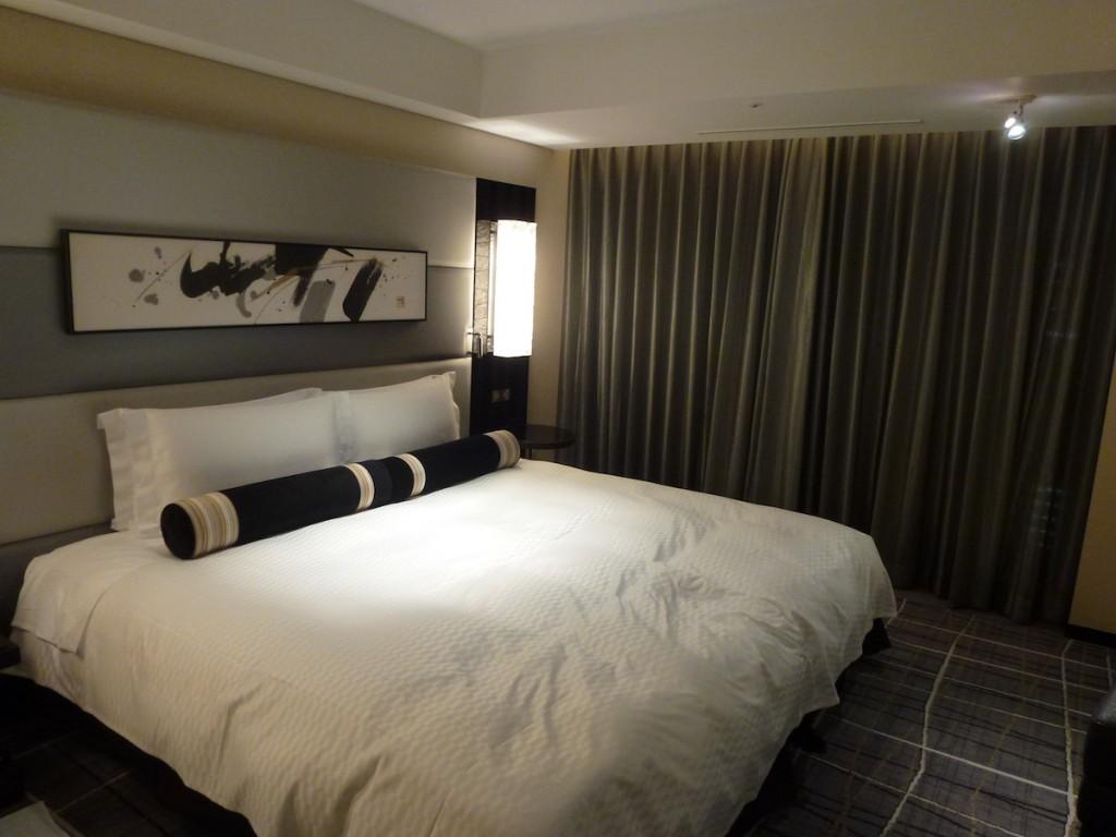 New Otani Tokyo - Zen Room bed