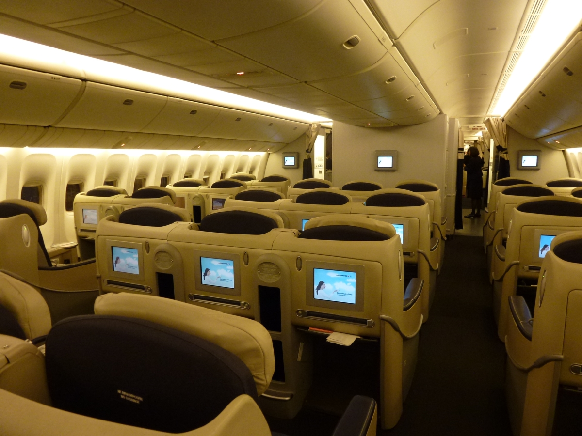 Air France Business Class could be improved
