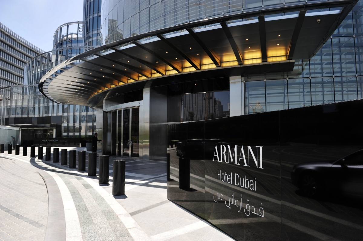 Pleasant stay at Armani Dubai