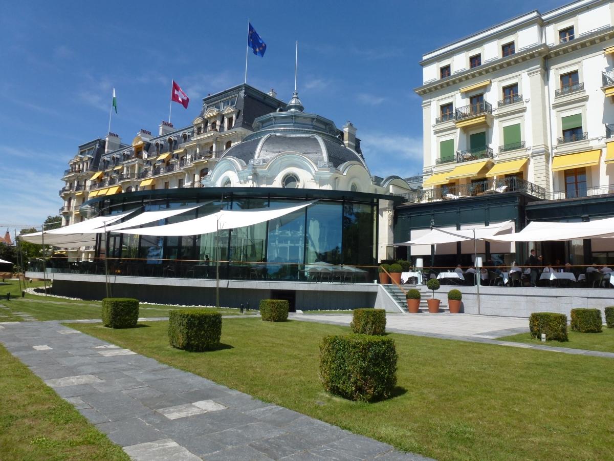 Beau-Rivage Palace, a luxury retreat
