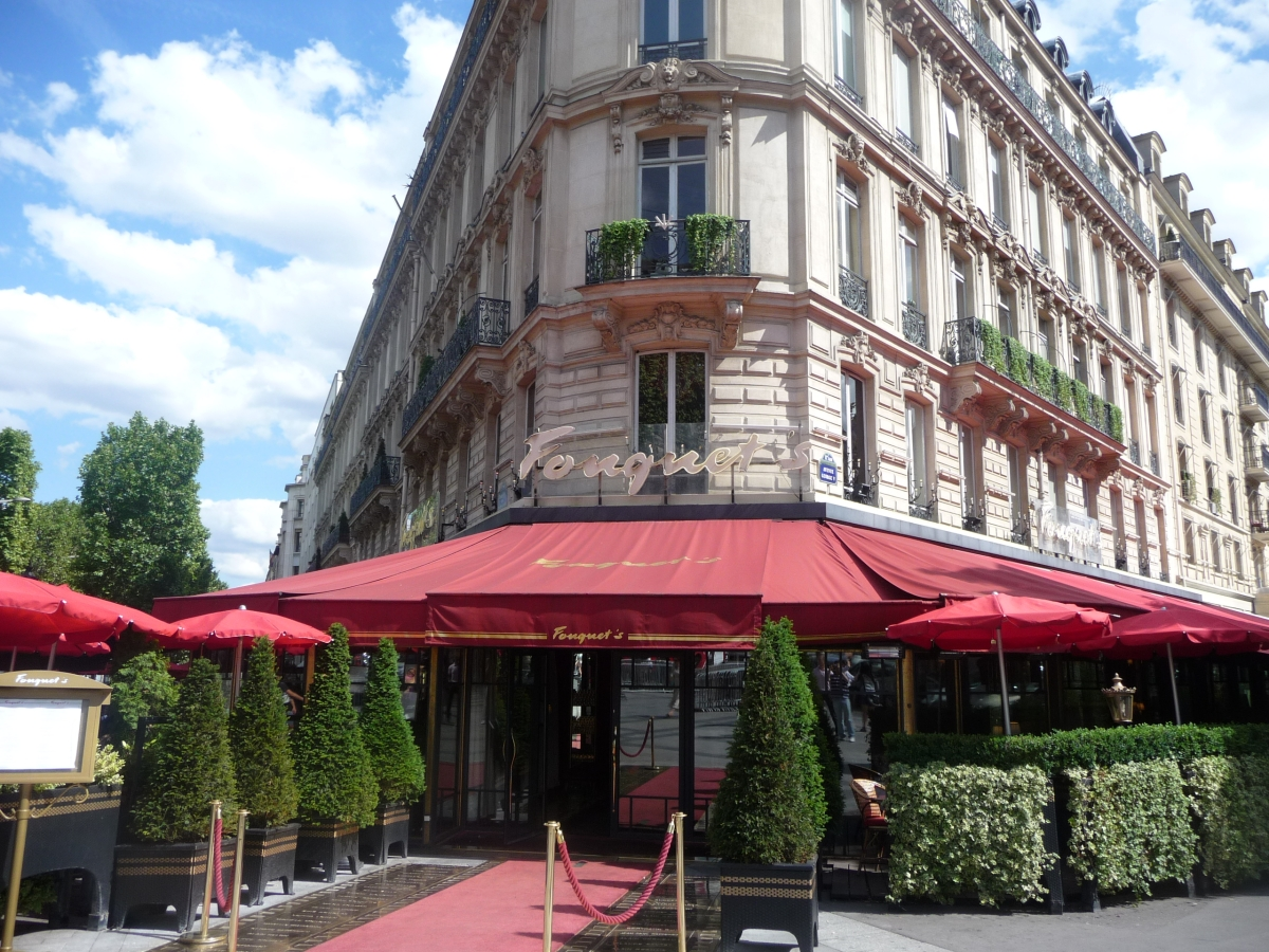 Junior Suite Champs-Elysées at Fouquet's Paris