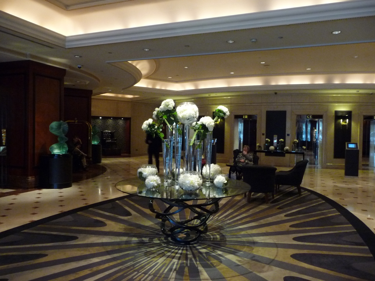 Good luxury basis at Hilton Park Lane