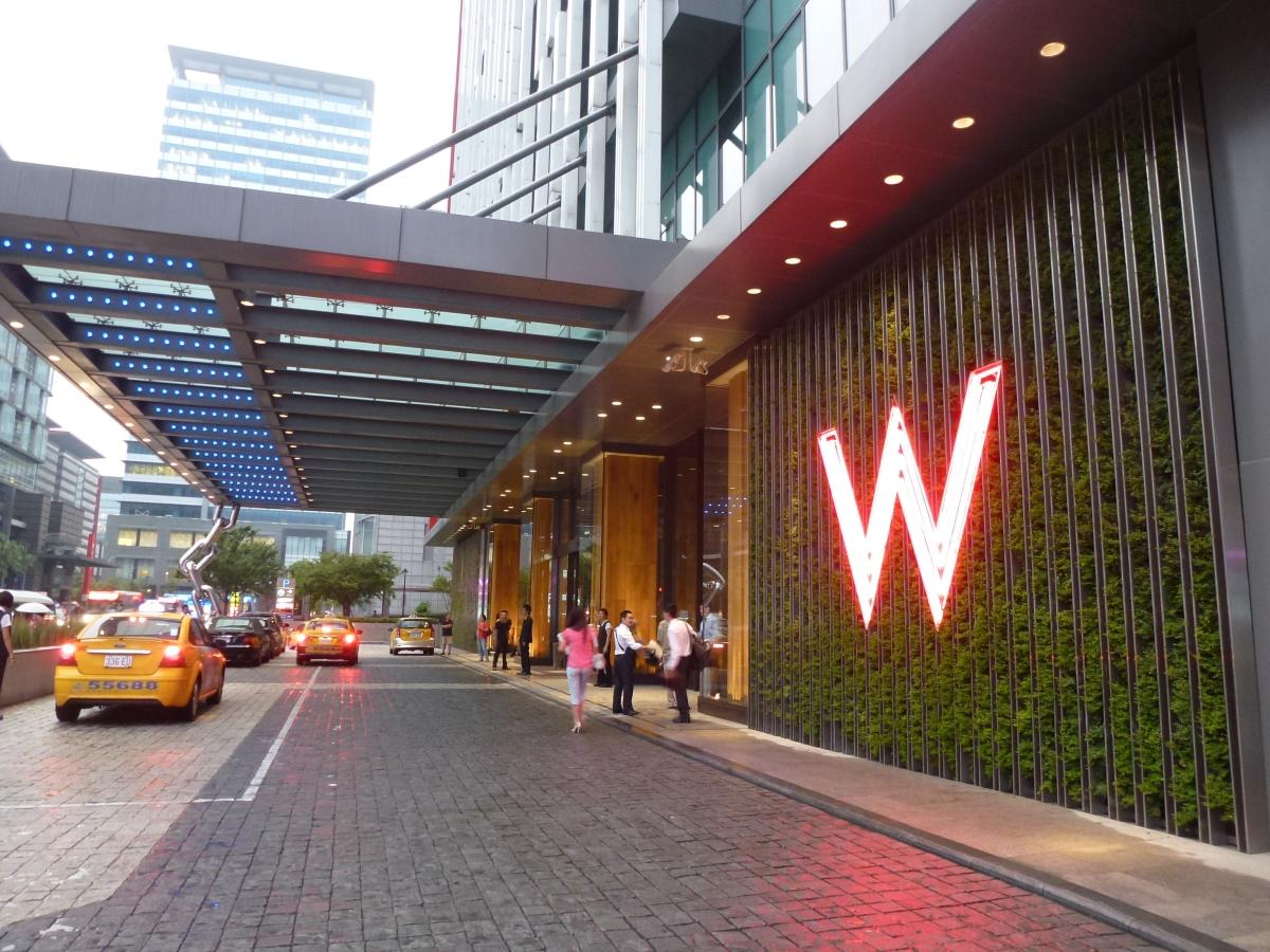 W Taipei, a fantastic city hotel