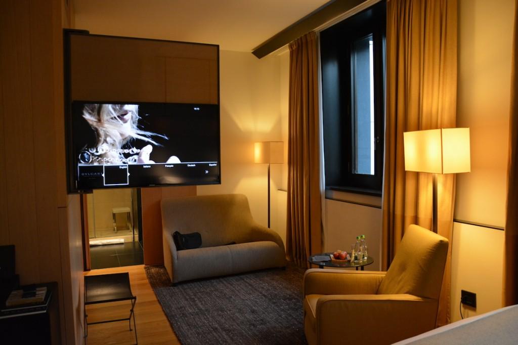 Bulgari Milan - Special Room lounge