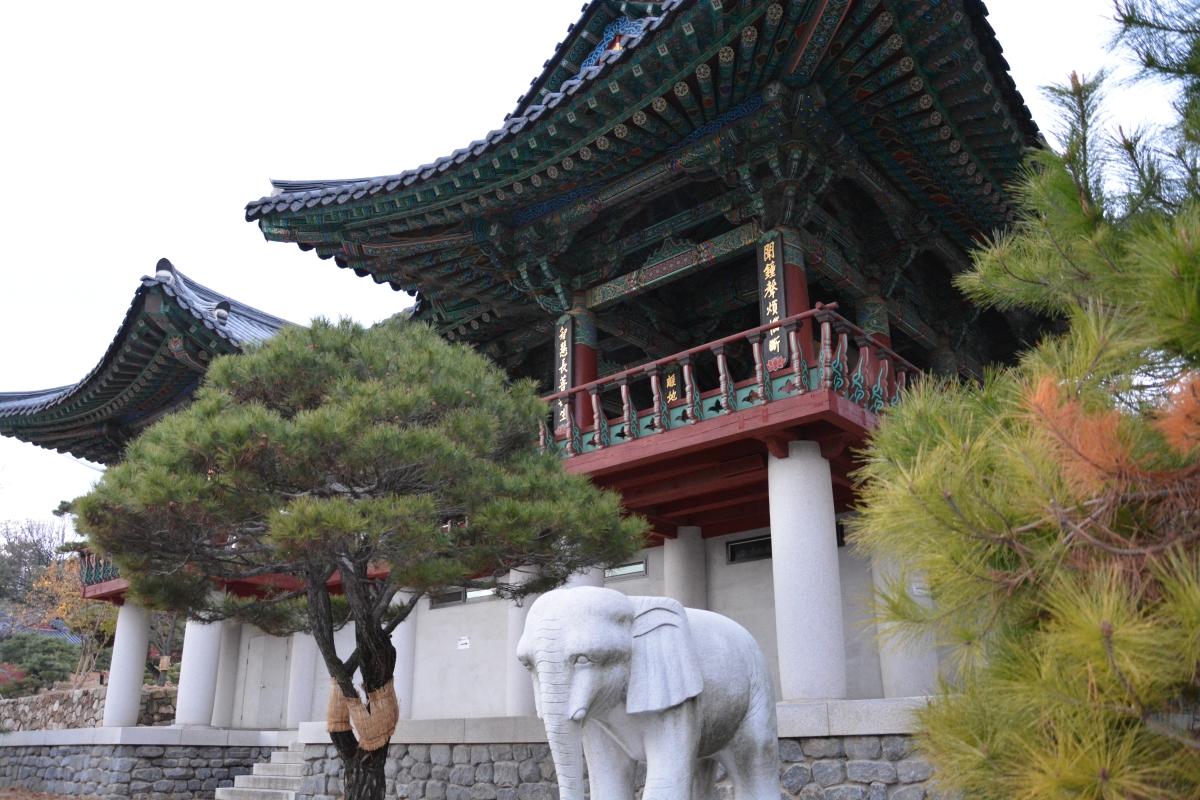 Winter trip in South Korea