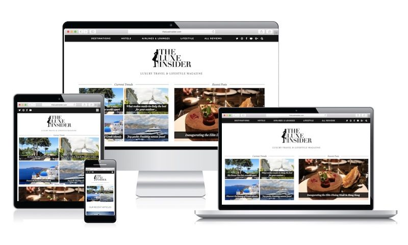 the luxe insider - new design