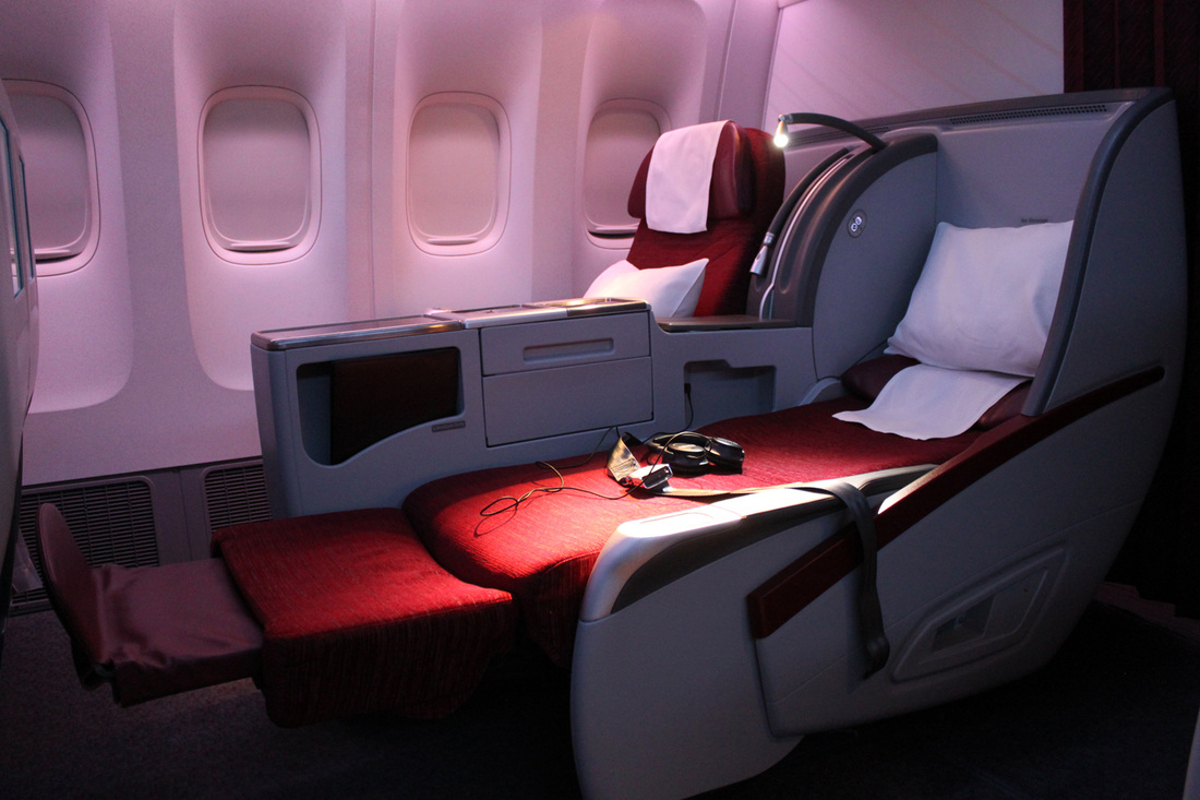 Unbelievable Qatar Airways Business Class The Luxe Insider