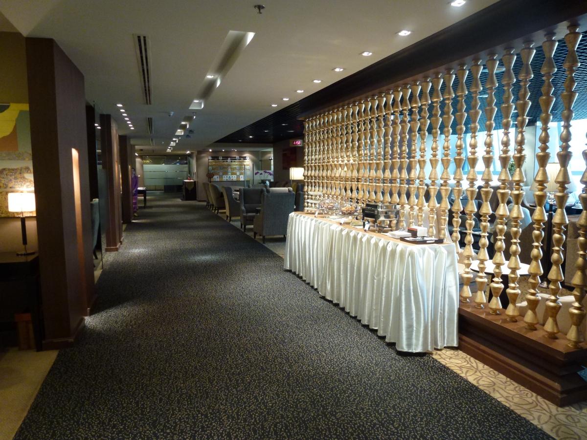 Thai Airways Royal First Class Lounge in Bangkok