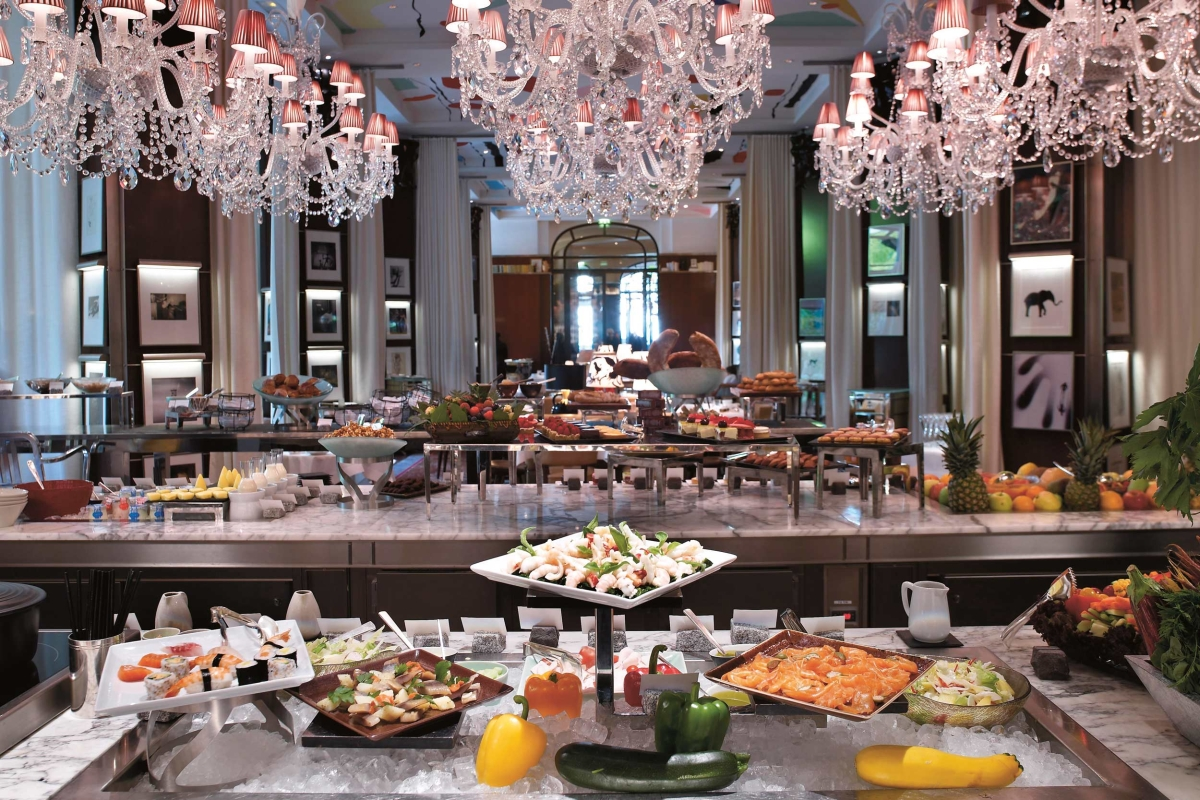 New Year Brunch at Le Royal Monceau Paris