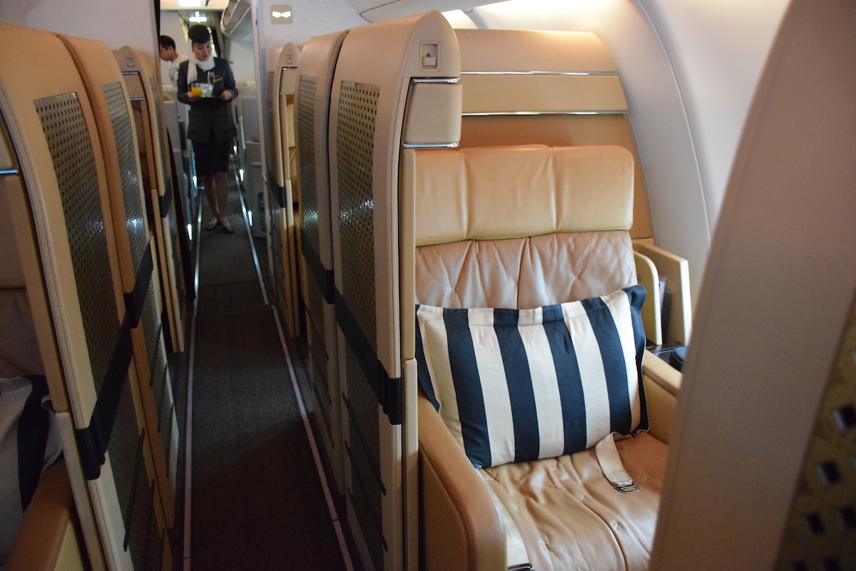 Etihad Airways First Class Suites on A340