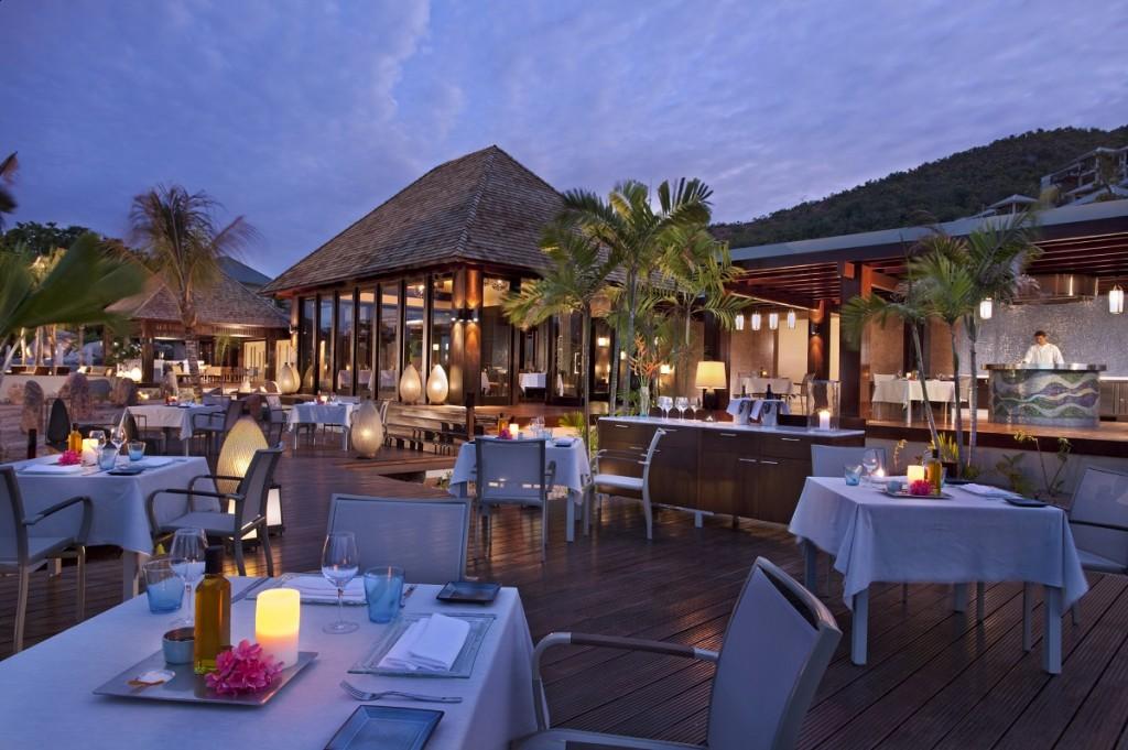 Raffles Praslin - Curieuse Restaurant