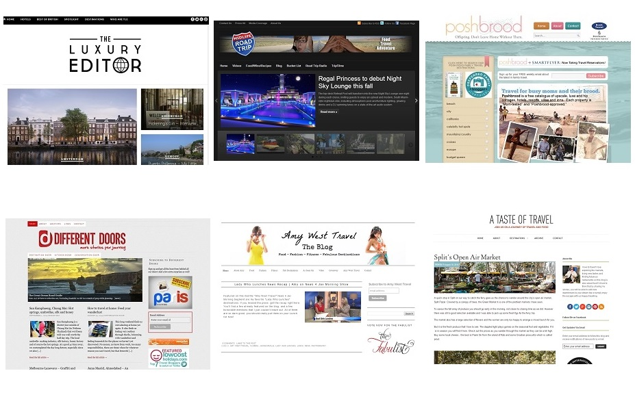2014 Best Travel Blogs