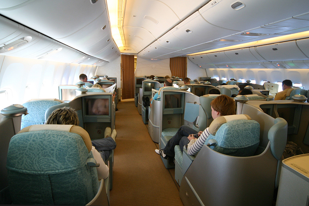 Upgraded to Etihad Airways Pearl Business Class