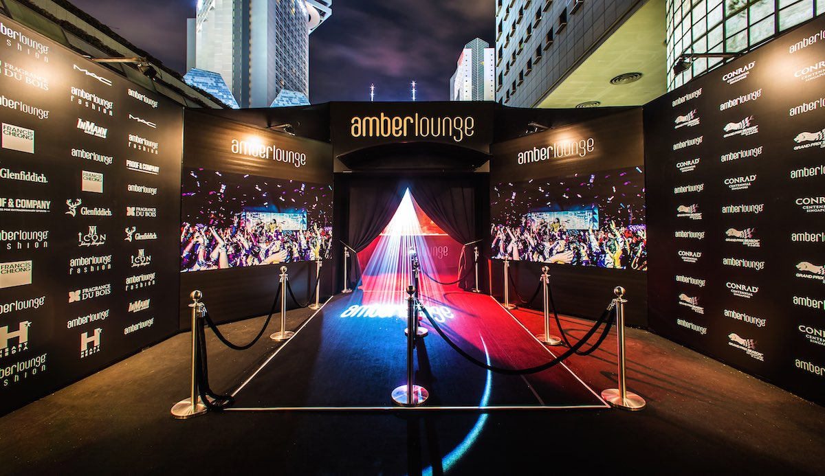 Celebrate 2015 Singapore Grand Prix with Amber Lounge