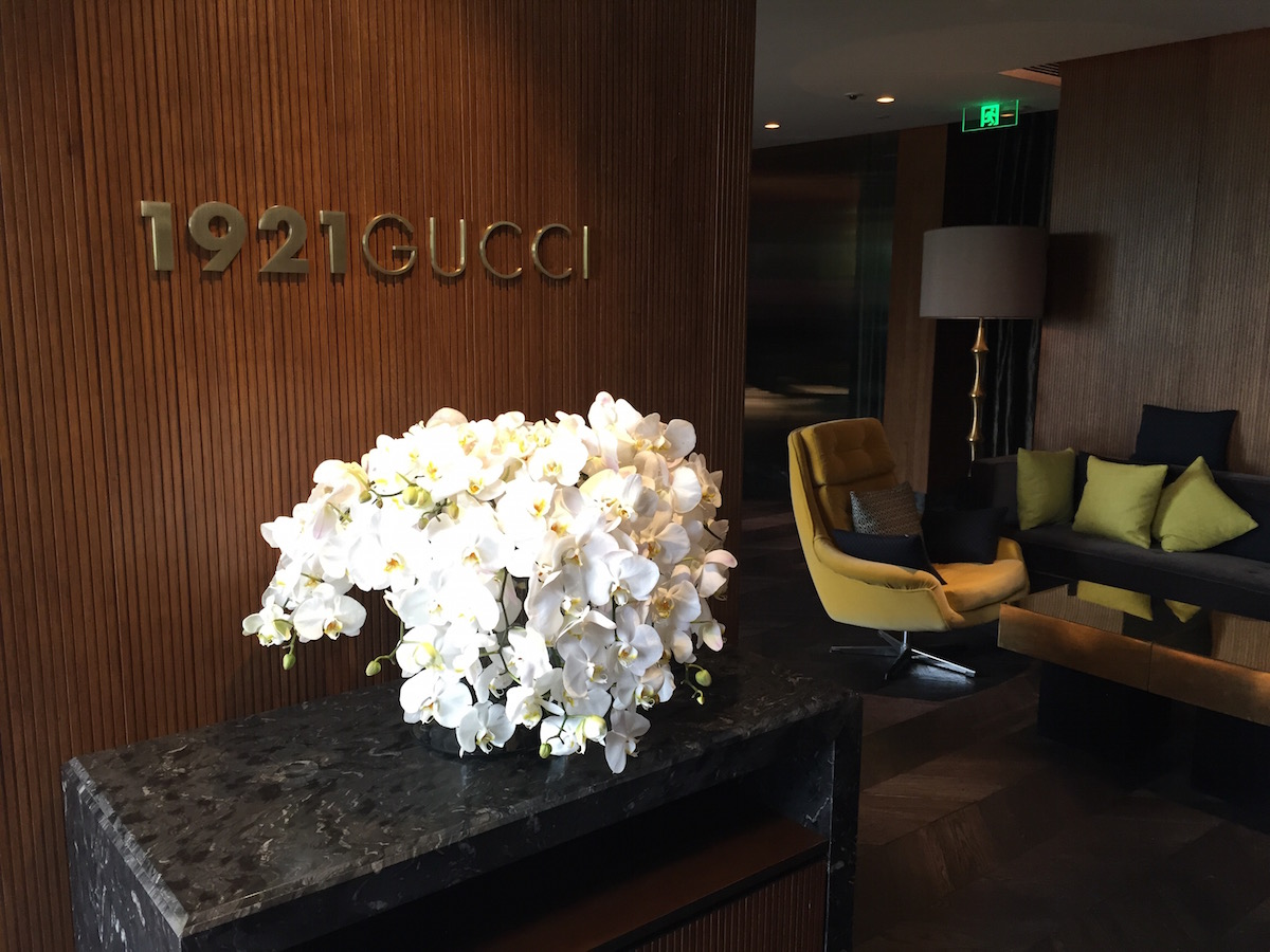 World's first Gucci restaurant opens its door in Shanghai