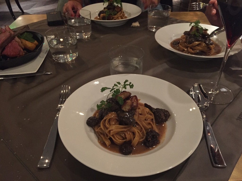 1921 Gucci Restaurant Shanghai - Tagliatelle with morels and foie gras