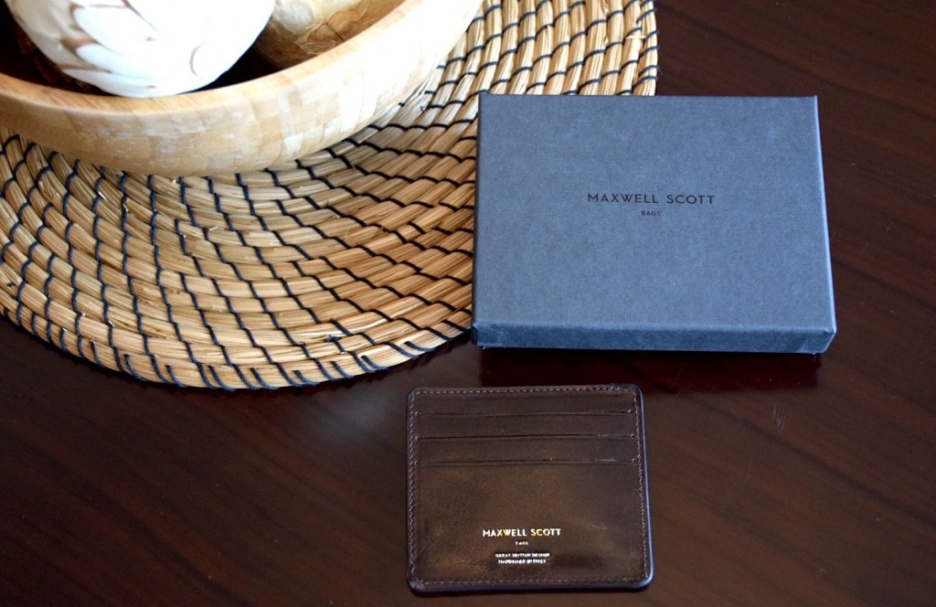 Maxwell Scott Bags - The Marco credit card holder