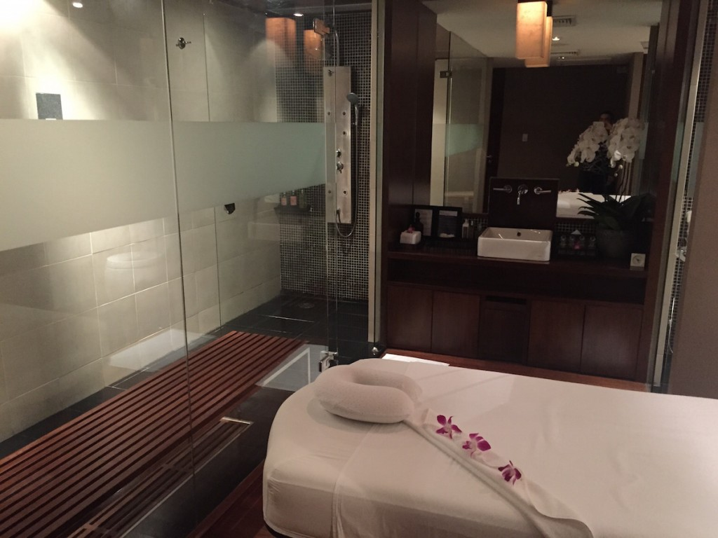 Royal Orchid Spa - Second treatment room with steam shower