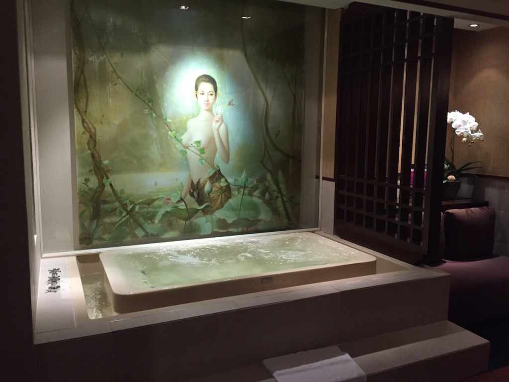 Royal Orchid Spa - Treatment room jacuzzi