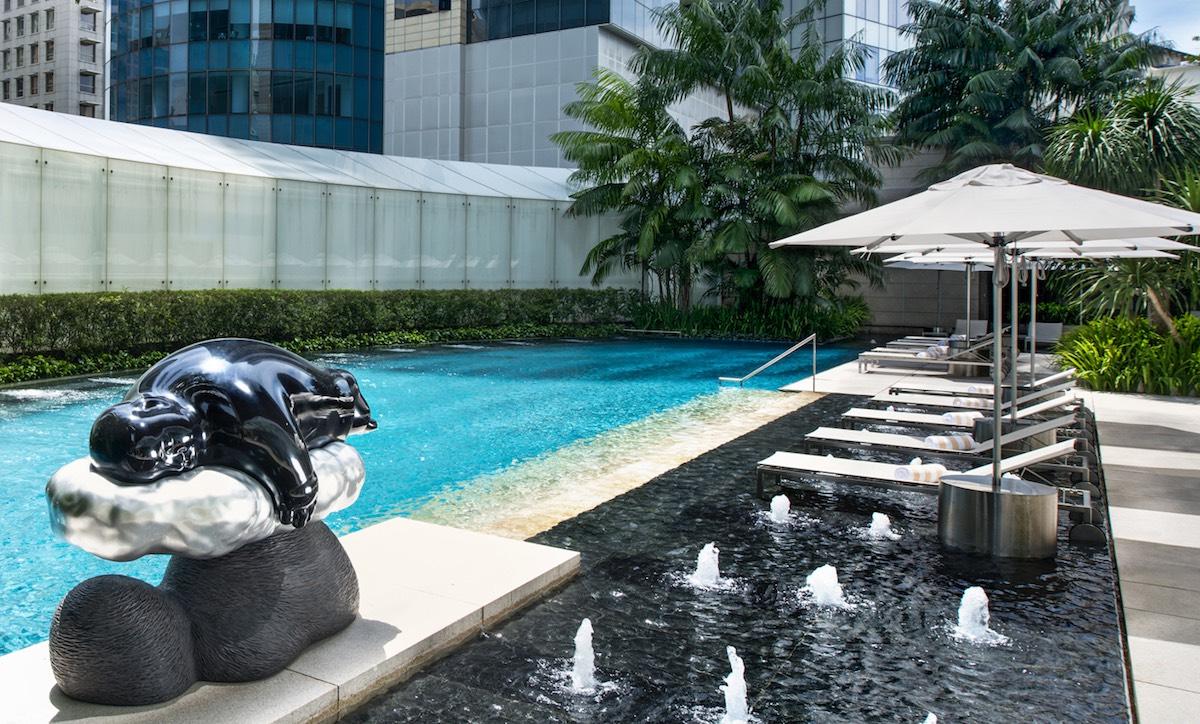St Regis Singapore, great place for epicureans