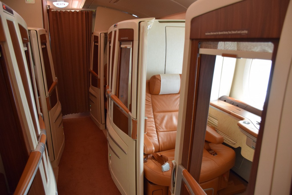 Singapore Airlines A380 Suites - Cabin