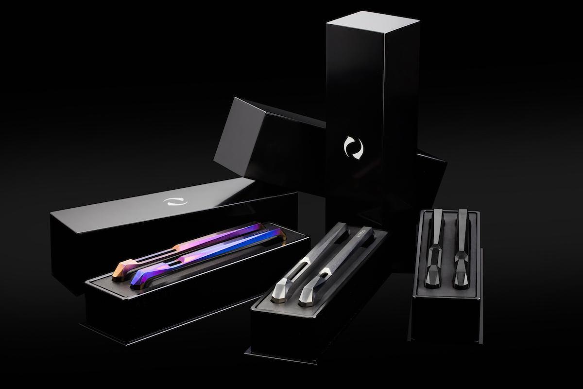 Advent by Gray, an avant-garde titanium iPhone case