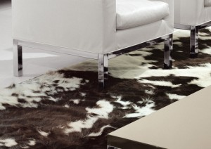 Luxury Italian furnitures - Tappeti cow carpet