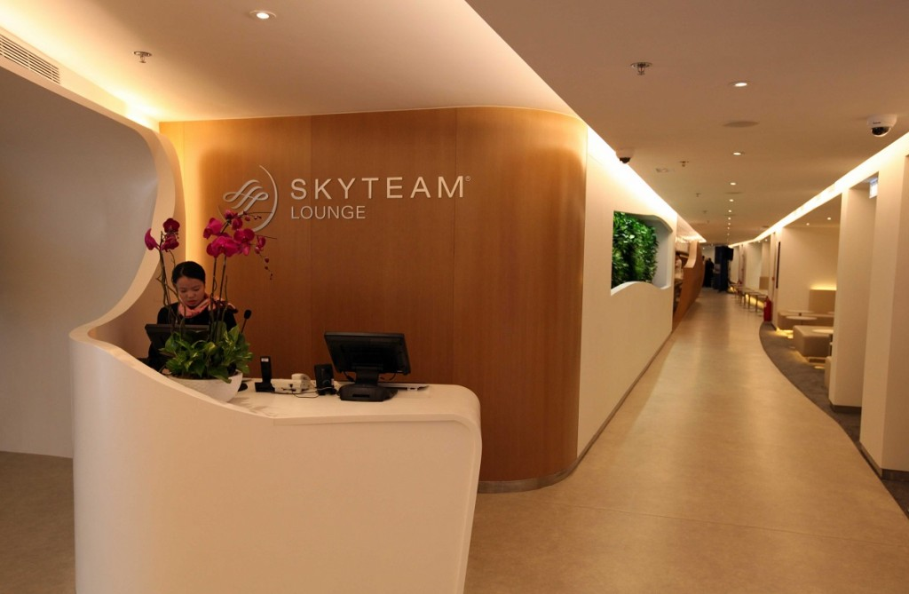 Skyteam lounge - Reception