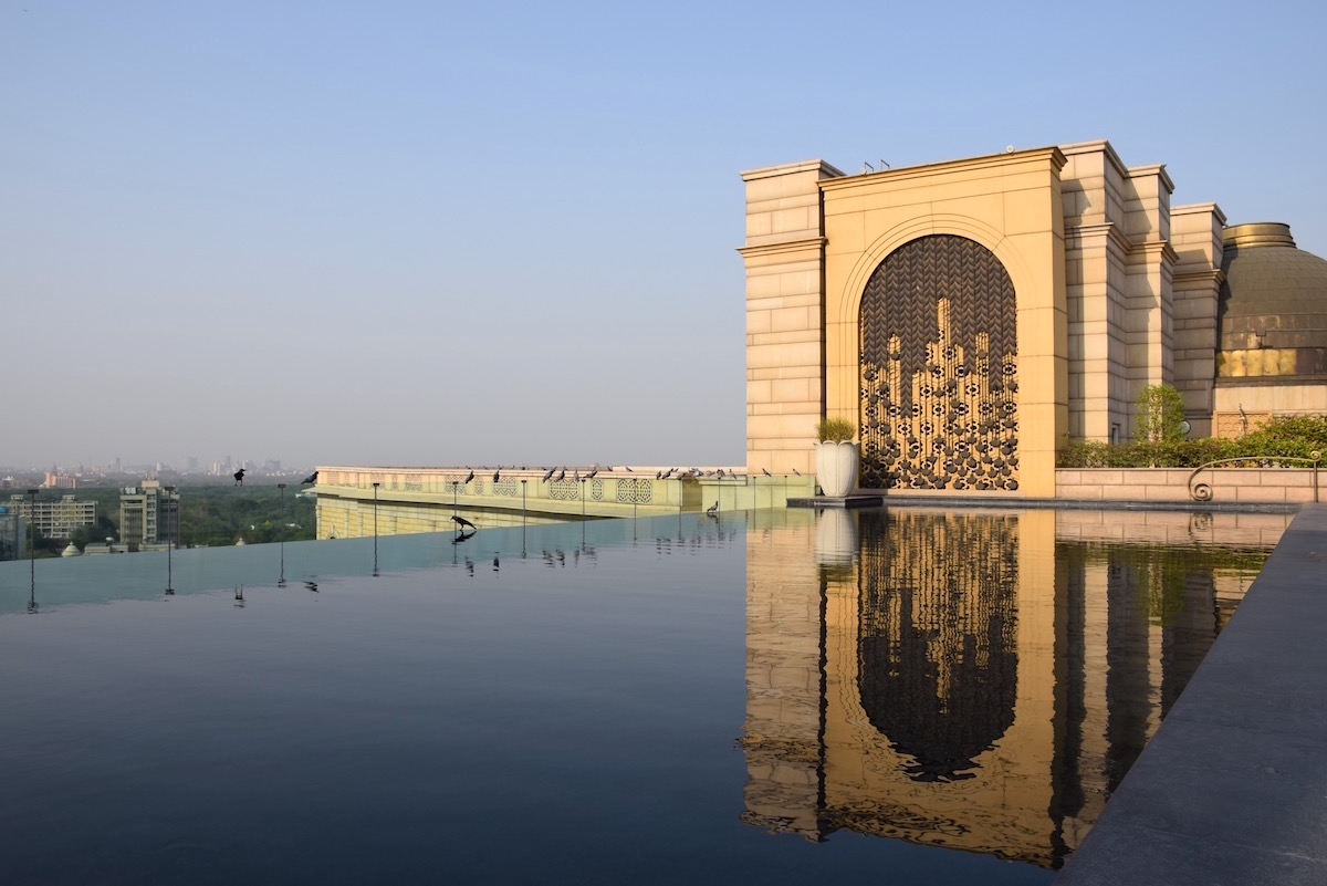 Indian retreat at Leela Palace New Delhi