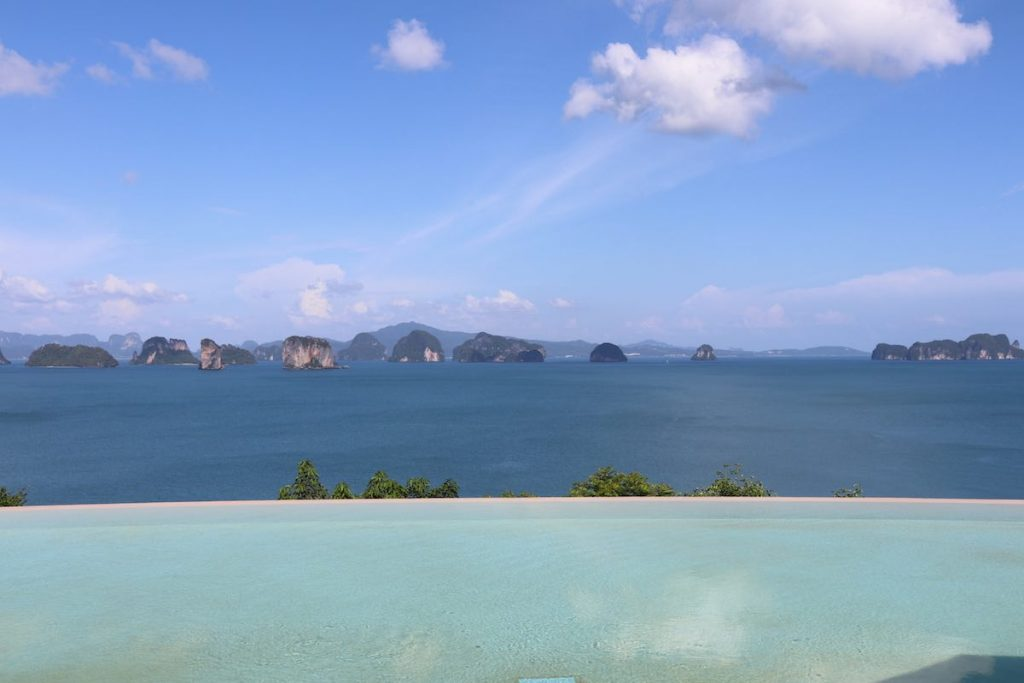 Stunning Phang Nga Bay view from Hilltop Reserve