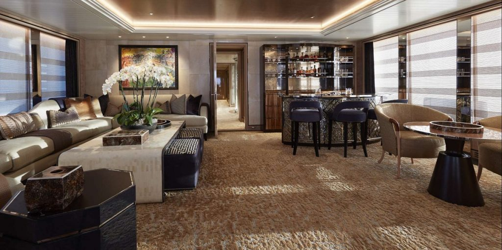 Living room - @feadship picture