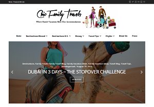Chic Family Travels - homepage