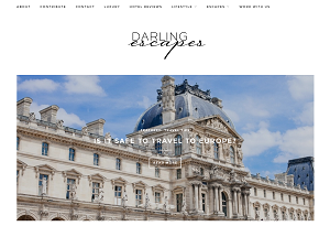 Darling Escapes - homepage