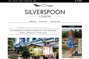 SilverSpoon London - homepage