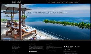 The Luxury Signature - homepage