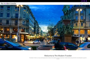 The Modern Traveler - homepage