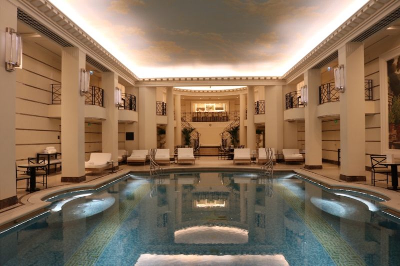 Ritz Club indoor pool