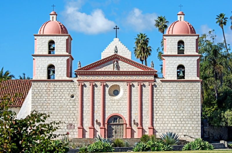 The Santa Barbara Mission - Picture by Mark Weber