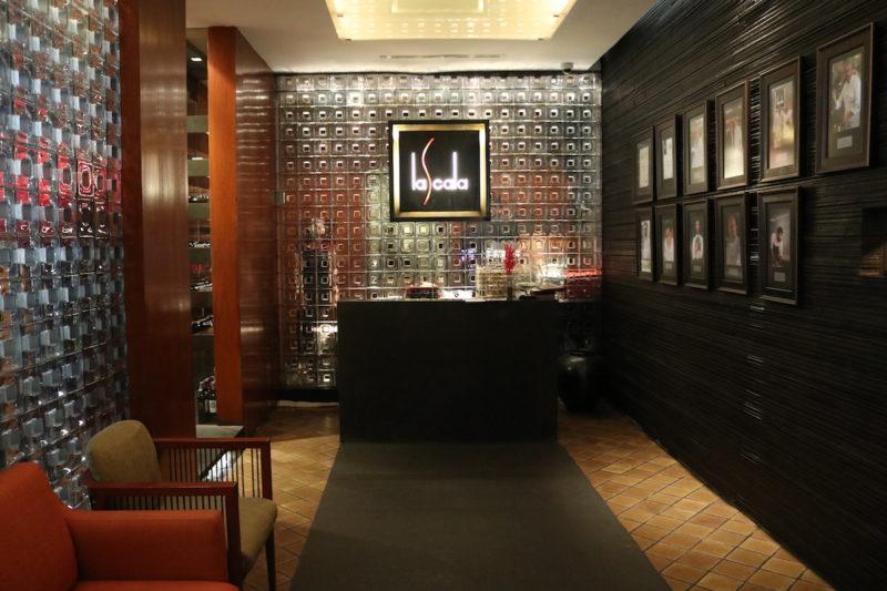 The Sukhothai - La Scala restaurant entrance