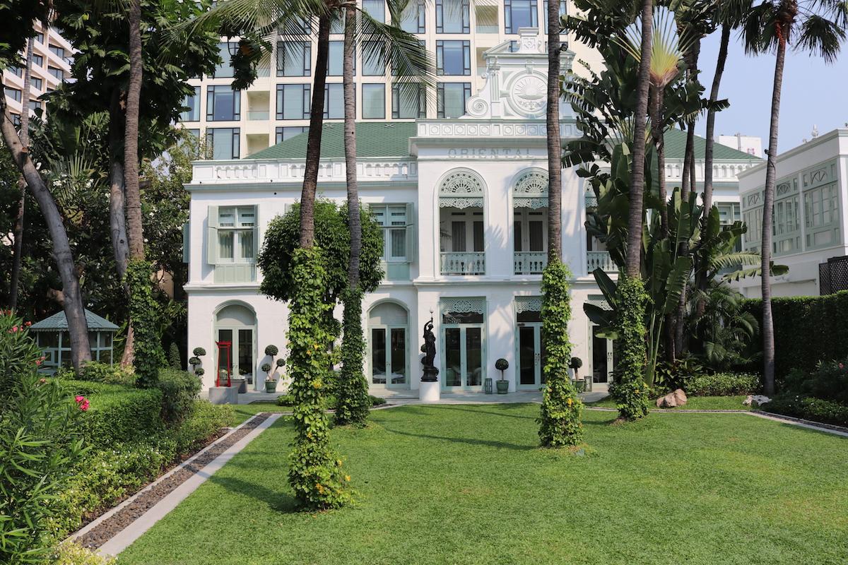 Original and historical Oriental Bangkok building, hosting the Royal and Ambassador Suites