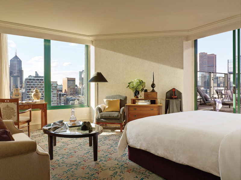 Executive Terrace Room indoor view - Picture by The Langham Melbourne