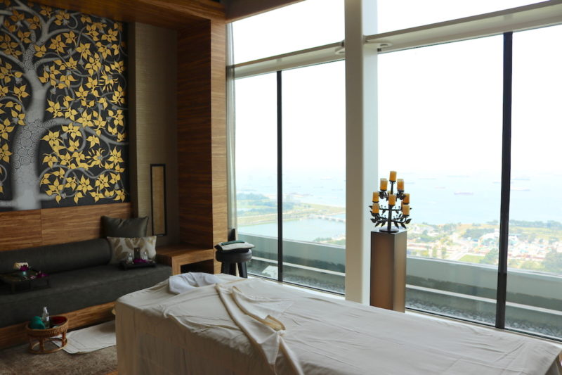 Treatment room at 55th floor