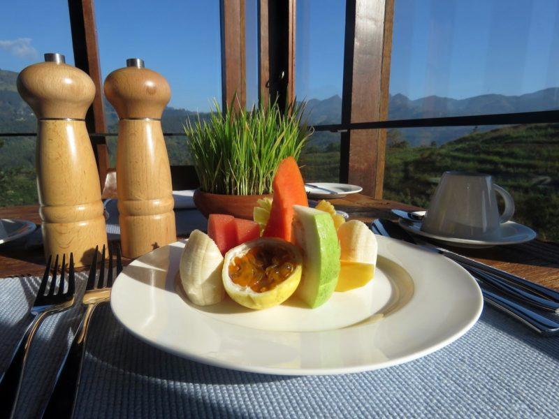 Breakfast - Fruit plate